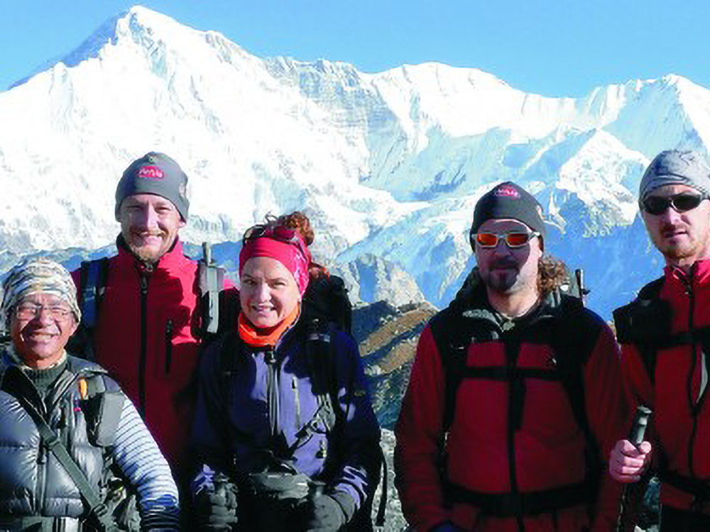Ama Dablam Expedition Gruppe Mit Mantare Rai 2009