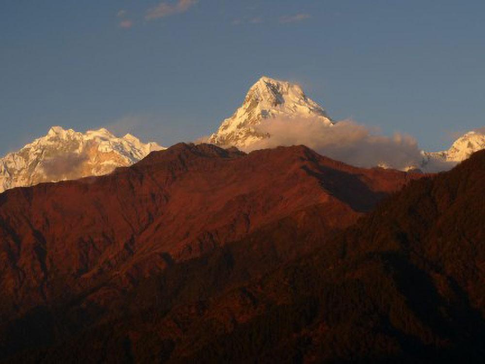 Annapurna 1, Annapurna Süd und Hiuchuli