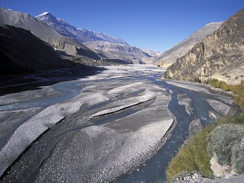 Kali-Gandaki Fluss