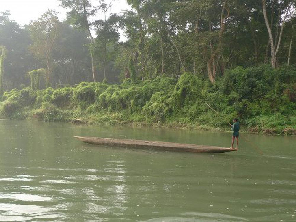 Rapti Fluss