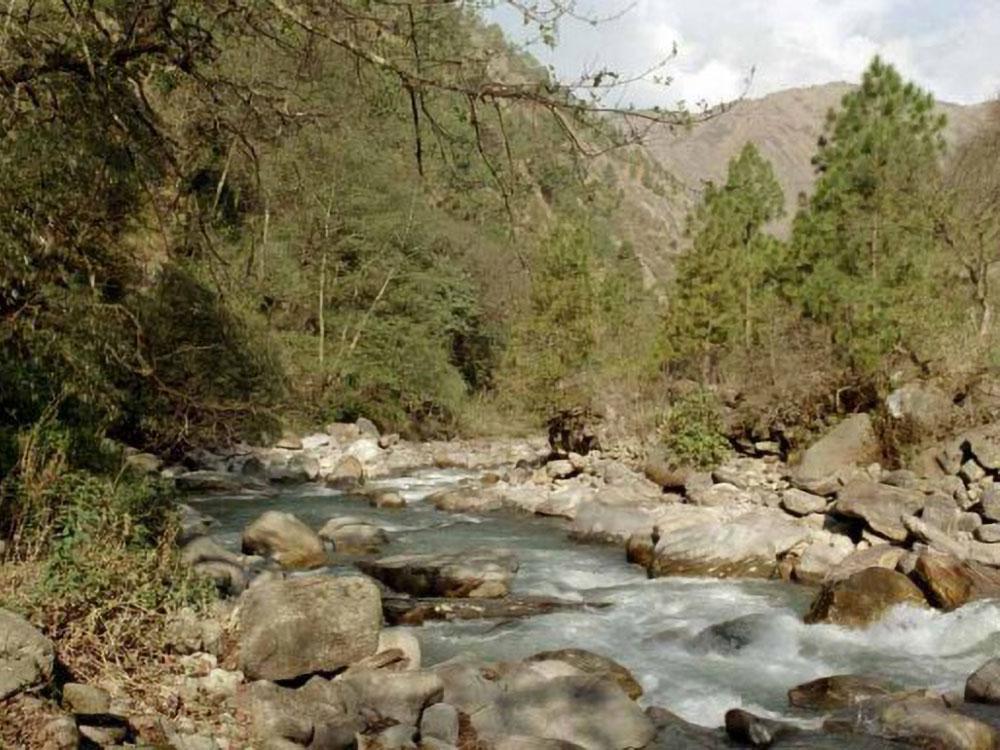 Langtang Fluss