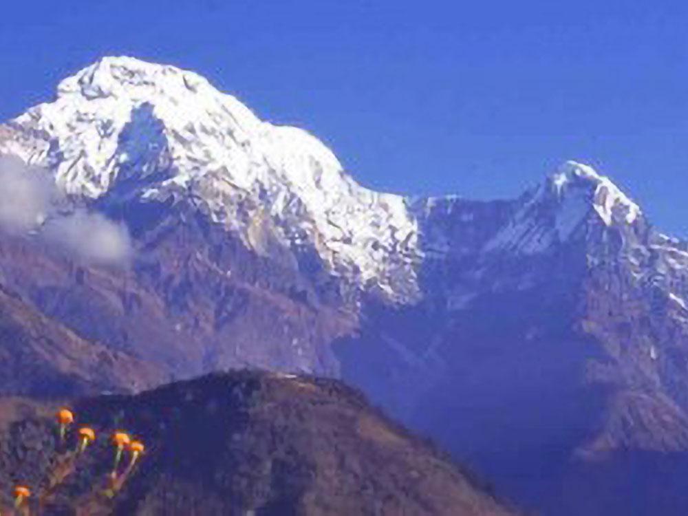 Annapurna Süd & Machhapuchhare