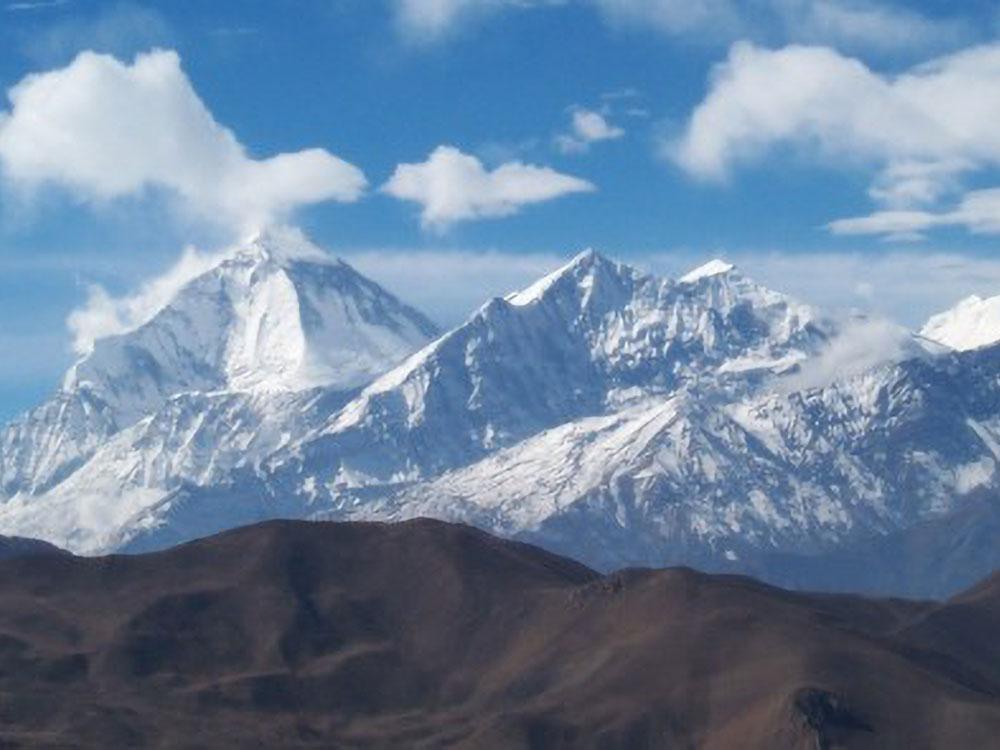 Dhaulagiri (8167 m) & Tukuche (6920 m)
