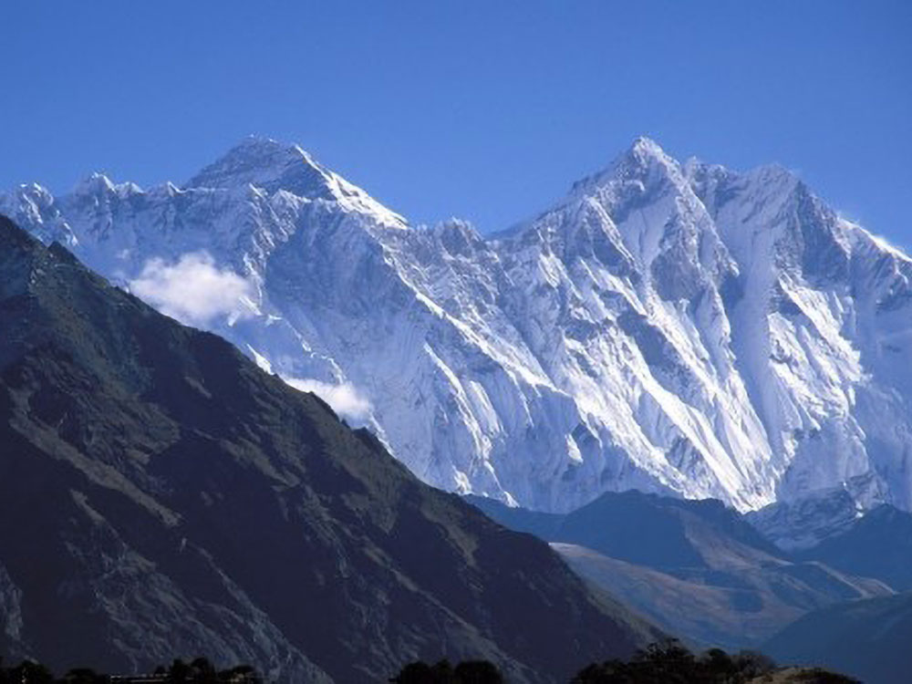 Mount Everest First View